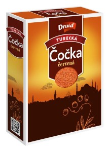 Čočka červená turecká DRUID