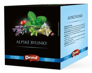 Alpské bylinky - bylinný čaj DRUID