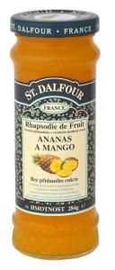 St. Dalfour ananas a mango ovocná pomazánka 284g