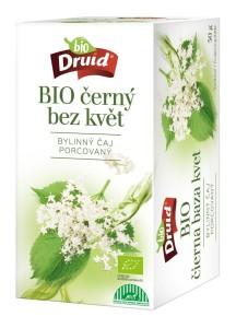 BIO Čaj černý bez - květ DRUID 30 g