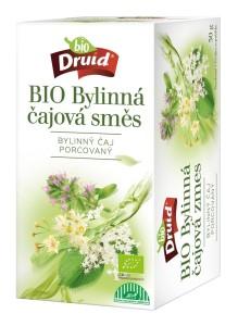 BIO Čajová bylinná směs (mateřídouška, lípa, květ čern. bezu) DRUID 30 g