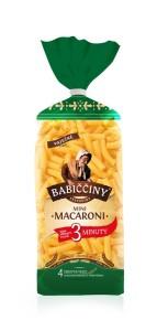 Babiččiny Mini Macaroni 3 min.
