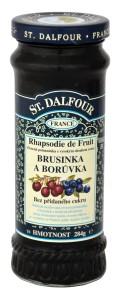St. Dalfour brusinka a borůvka ovocná pomazánka 284g