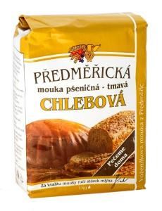 Chlebová mouka pšeničná – tmavá 1000g