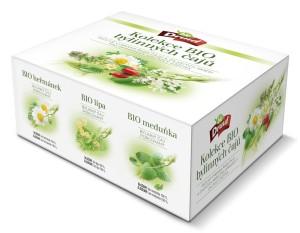 Dárková kazeta BIO čajů (pap.box, 6druhů x 8 ks) DRUID 72 g