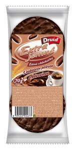 EJCH - Žitné s kakaovou polevou a kávovinou DRUID 70 g