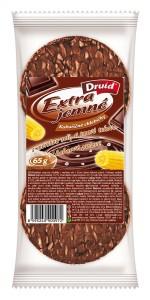 EJCH - Kukuřičné se solí, v tmav.tukovo-kakaové polevě DRUID 65 g