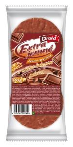 EJCH - Rýžové s mléčno-kakaovou polevou DRUID 65 g
