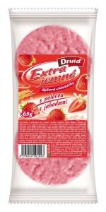 EJCH - Rýžové s polevou s jahodami DRUID 65 g
