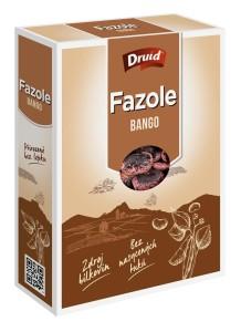 Fazole Bango máslová barevná velká (krabička) DRUID 250 g