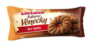 Glutaline kakaové věnečky bez lepku 100 g DRUID