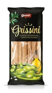 Grissini s olivovým olejem DRUID 90 g