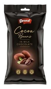 Kakaové boby v mléčné čokoládě 90 g