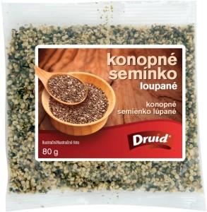 Konopné semínko loupané 80 g DRUID