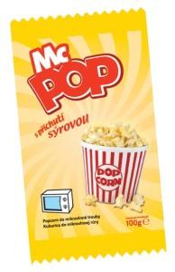MC POP s příchutí sýrovou (mikro popcorn) 100 g DRUID