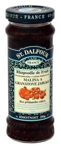 St. Dalfour malina a granátové jablko ovocná pomazánka 284g