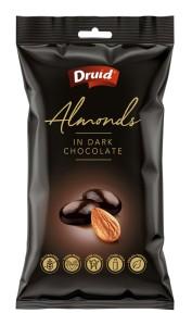 Mandle v hořké čokoládě 90 g