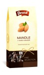 Mandle v hořké čokoládě (krabička) DRUID 100 g