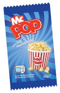 Pop corn MC POP máslový 100g