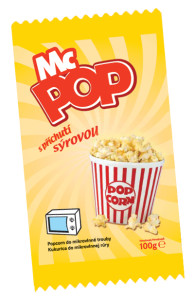 Pop corn MC POP sýrový 100g