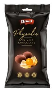 Physalis v mléčné čokoládě 90 g