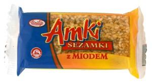 Sezamky AMKI s medem 30 g
