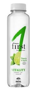 VITALITY limetka & máta Fructal funkční voda
