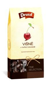 Višně v hořké čokoládě (krabička) DRUID 80 g