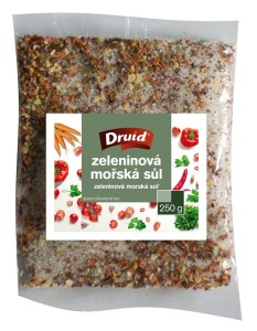Zeleninová mořská sůl 250 g DRUID