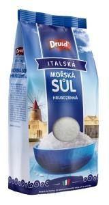 Mořská sůl hrubozrnná 1 kg DRUID