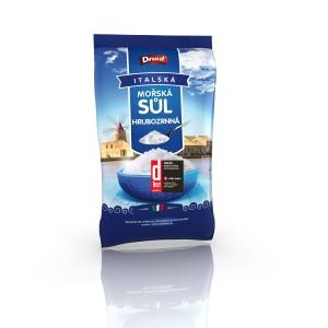 Mořská sůl hrubozrnná 1 kg DRUID se štítkem D-test_CZ