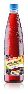 Dialine Aronie a rakytník s ovocným cukrem DRUID 650 ml