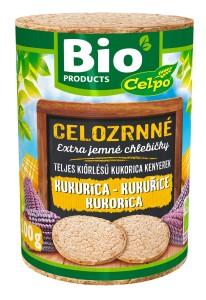 BIO chlebíčky kukuřičné PurPur 100 g