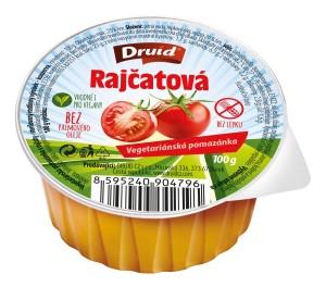 Veg. pomazánka s rajčaty DRUID 100 g