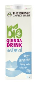 BIO quinoa rýžový nápoj bez lepku 1 l
