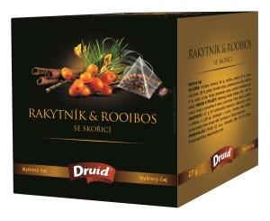 Rakytník & Rooibos se skořicí - bylinný čaj DRUID 27 g