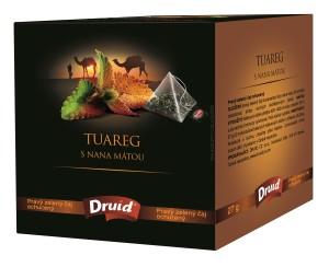 Tuareg s nana mátou - zelený ochucený čaj DRUID 27 g