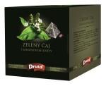 Zelený čaj s jasmínovými květy - zelený ochucený čajDRUID 27 g