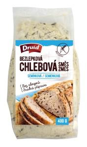 Bezlepková chlebová směs semínková DRUID 400 g