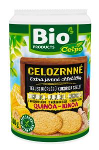 BIO chlebíčky kukuřičné s quinoou a mořskou solí 100 g