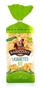 Babiččiny BIO lasagnettes 250 g