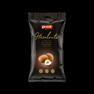 Lískové ořechy ve slaném karamelu 90 g