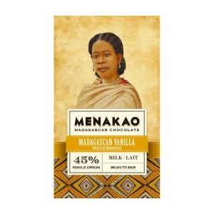 Mléčná čokoláda Menakao vanilková