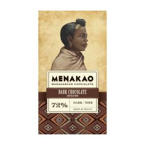 Tmavá čokoláda Menakao 72%