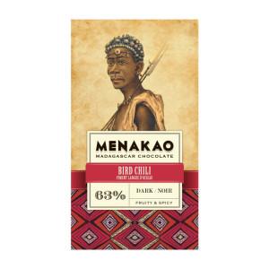 Tmavá čokoláda Menakao chilli